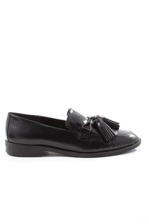 Zara Mocasines negro look casual