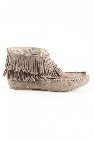Zara Moccasins light grey simple style