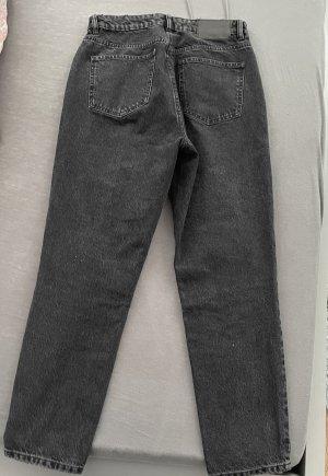 Zara Basic Pantalon boyfriend noir