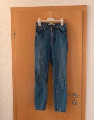 Zara Trafaluc Jeans boyfriend multicolore