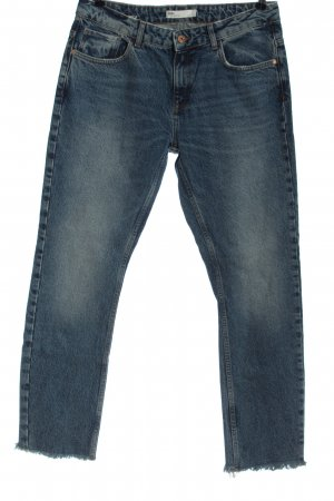 Zara Mom-Jeans niebieski W stylu casual