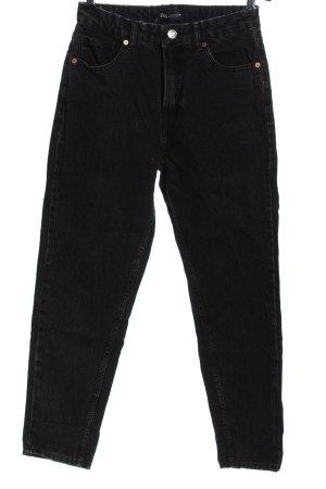 Zara Mom-Jeans schwarz Casual-Look