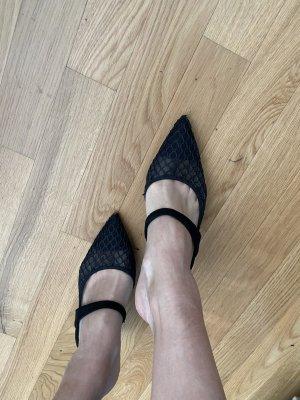 Zara Mules Schuhe schwarz 39