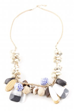 Zara Shell Necklace multicolored extravagant style