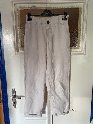 Zara Pantalone chino bianco sporco