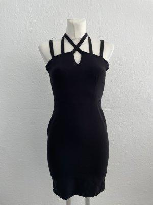 Zara Neckholder Kleid S schwarz Sommerkleid Kleid cute
