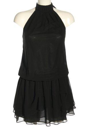 Zara Halter Dress black elegant