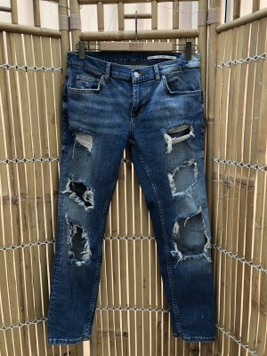 Zara Neu Destroyed Jeans Gr. 36