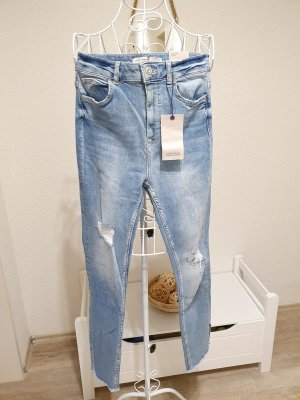 Zara Stretch jeans azuur