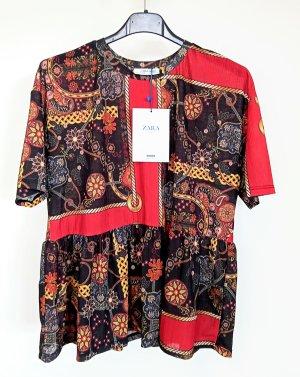 """Zara"" Neu mit Etikett! Damen Bluse Gr.S kurzarm."