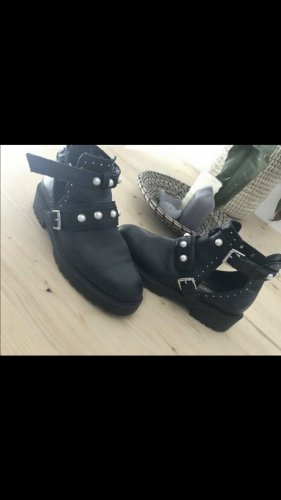 Zara Biker Boots black