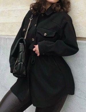 Zara Oberhemd/Hemdjacke mit Gürtel Gr.  M