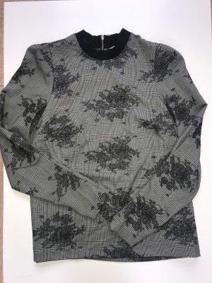 Zara Lang shirt zwart-grijs