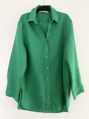 Zara Oberteil Hemd Bluse Leinen Oversize Ausverkauft Blogger