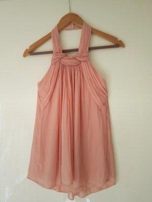 Zara Offshoulder Top in rosa XS
