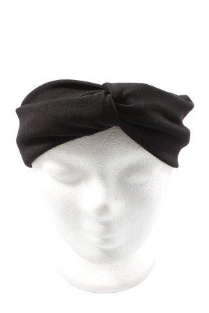Zara Cache-oreilles noir style décontracté