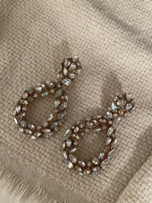 Zara Dangle silver-colored-gold-colored