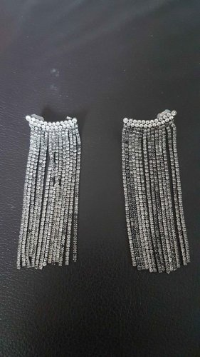Zara Accesoires Zarcillo color plata