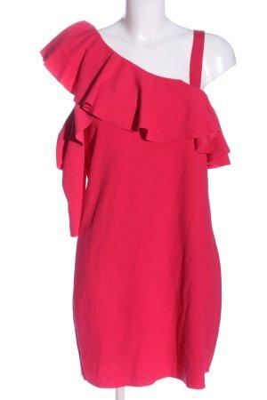 Zara Robe asymétrique rose style décontracté