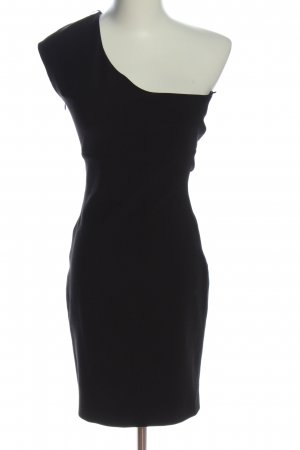 Zara One Shoulder Dress black elegant