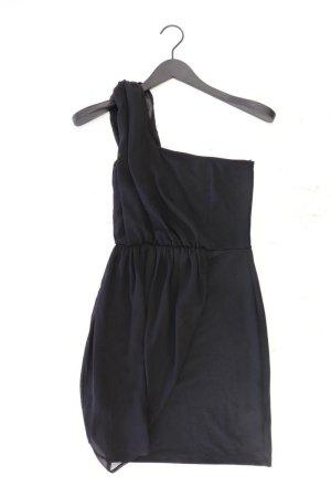 Zara One-Shoulder-Kleid Größe S Ärmellos schwarz aus Polyester