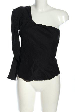 Zara Camicia monospalla nero stile casual