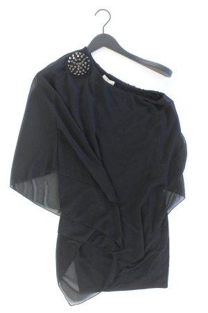 Zara Eénschoudershirt zwart Polyester