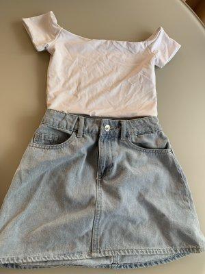 Zara Outfit Jeans Rock xxs