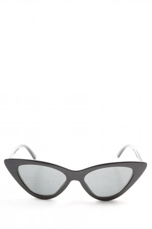 Zara Butterfly Brille schwarz Casual-Look