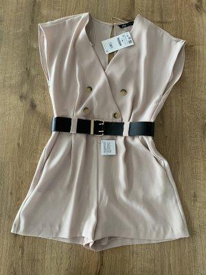 Zara overall Gr. m jumpsuit Neu beige