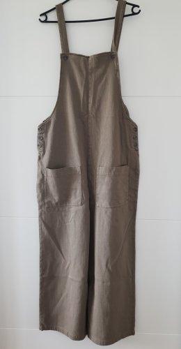 Zara Overall Jumpsuit khaki Gr M