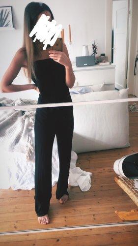 Zara Overall Jumpsuit Satin Palazzo Wide Leg Einteiler ConOrd
