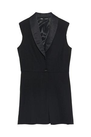 ZARA Overall kurz Blazer schwarz gr xs neu mit Etikett