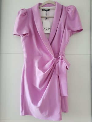 Zara Overall Minikleid lila lilac