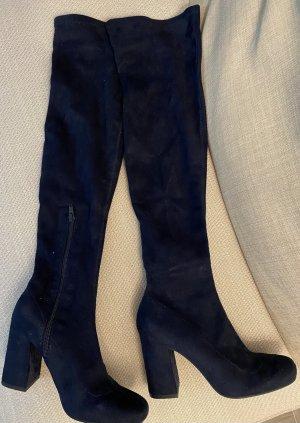 Zara Overknees Stiefel, Hervorragender Zustand