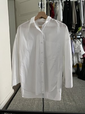 Zara Oversized Blouse white