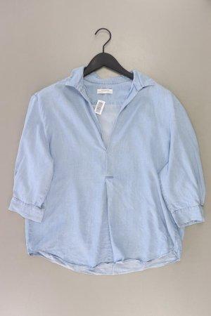 Zara Bluzka oversize niebieski-niebieski neonowy-ciemnoniebieski-błękitny