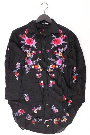 Zara Oversize-Bluse Größe XS schwarz aus Baumwolle