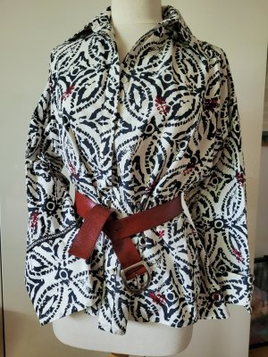 ZARA  Oversize Bluse mit Stickerei