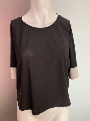 Zara Oversize Bluse Top Kurz Gr 36 38 S