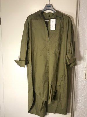 Zara Oversize Blusenkleid NEU
