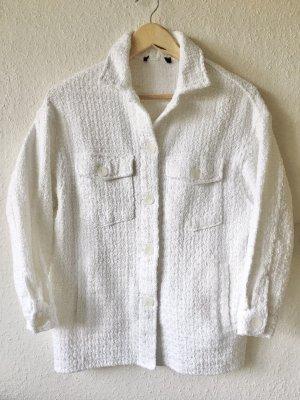 Zara Kurtka oversize biały
