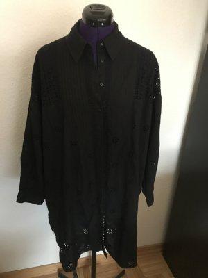 Zara oversize Hemd mit Lochstickerei Gr. L neu mit Etikett