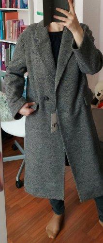 Zara Women Cappotto taglie forti grigio