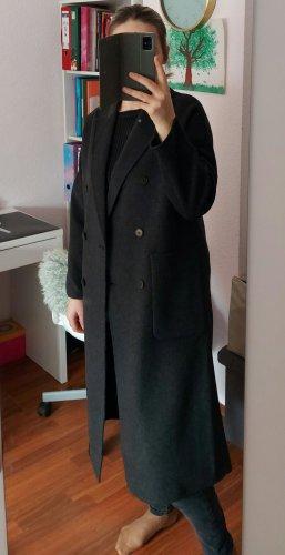 Zara Woman Cappotto taglie forti grigio