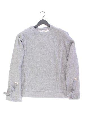 Zara Oversize-Pullover Größe L grau aus Baumwolle