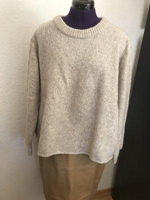 Zara Oversize Pullover M o h a i r - Wolle Anteil Lagenlook, Gr. S neu Mit Etikett