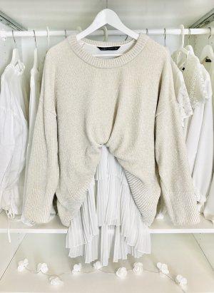 Zara oversize Pullover nude