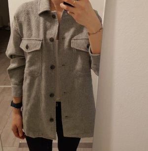 Zara Shirt Jacket light grey
