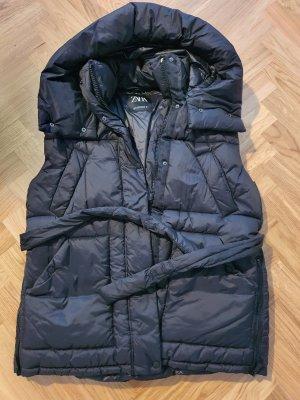 Zara Capuchon vest zwart